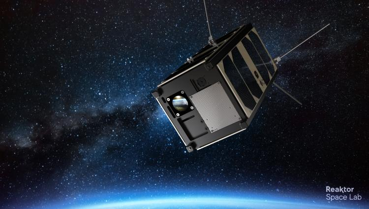 Drawing of the nanosatellite.